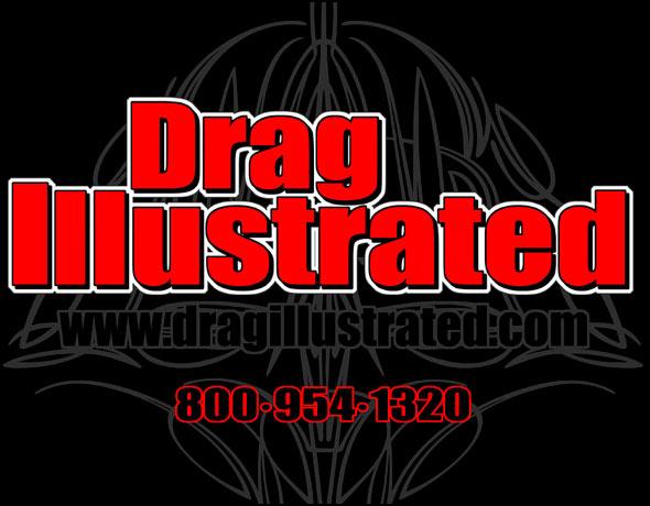 drag racing logo design