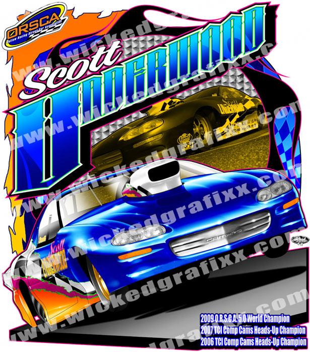 scott underwood big tire drag race shirt backjpg
