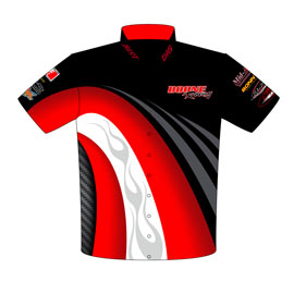 NEW!! Boone Racing Pro Modified Racing Crew / Team Shirts Front View