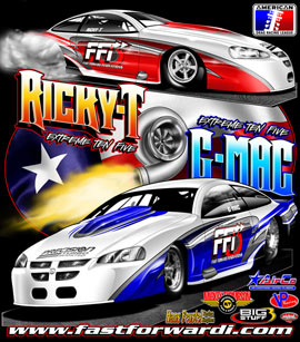 Grant McCreary R Thornton ADRL Pro Mod Drag Racing T Shirts