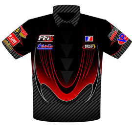 Grant McCreary R Thornton ADRL Pro Mod Crew Shirts Front View