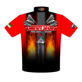 NEW!! Super Shop Outlaw 10.5 Drag Racing Team / Crew Shirts Back View