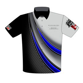NEW!! Shane Bourel SCCBC World Champion Racing Team Shirts Front View