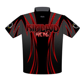 NEW !! Tim Kincaid True Ten Five Drag Racing Crew Shirts Front View