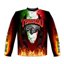 NEW!! Terenzio Brothers Core Bore BMX Racing Team / Crew Shirts Front View