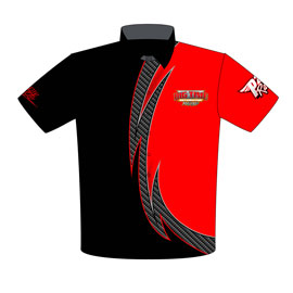 NEW!! Big Time Automotive Outlaw 10.5 Drag Racing Crew Shirts Front View