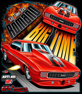NEW!! Big Time Automotive Outlaw 10.5 Drag Racing T Shirts