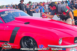 Wicked Grafixx Customers Desert Demons Racing Twin Turbo Shelby Mustang PDRA Pro Extreme