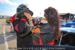 Gerry Capano of Split Racing with Wicked Grafixx Drag Racing Crew Shirts PDRA Pro Modified