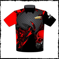 NEW!! Brink Airbrush Designs And Custom Paint Crew Shirts Front View
