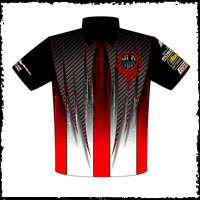 NEW!! Returning Customer Yvonne Lucas Pro Modified Camaro Crew Shirts Front View