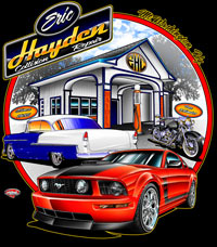 Eric Hayden Collision Business T Shirts