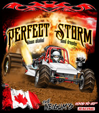 NEW!! Perfect Storm Sand Dragster Racing T Shirts