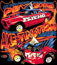 NEW !! Steve Hemmings AXE-TINCTION Unlimited Banger Racing T Shirts