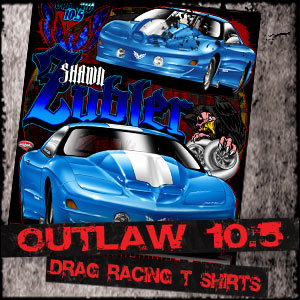 Outlaw 10.5 Drag Racing T Shirts Designs, Racing Shirts Gallery