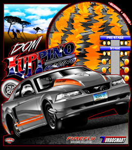 Dom Luppino | Australias Number 1 Pro Street Mustang T Shirts