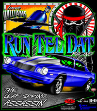 Lamonte Williams | RunTelDat Racing Leaf Spring Assassin Drag Racing Shirts