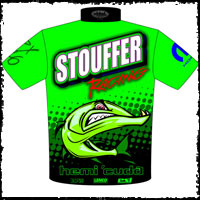 Stouffer Racing 1970 Hemi Cuda X-DRL Pro Mod Drag Racing Crew Shirts